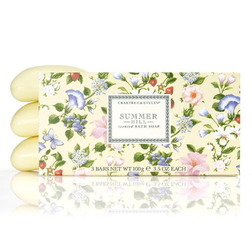 Summer Hill Milled Soap 3x100gr
