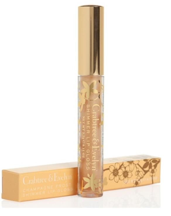 Crabtree & Evelyn Lip Gloss Champagne Frost
