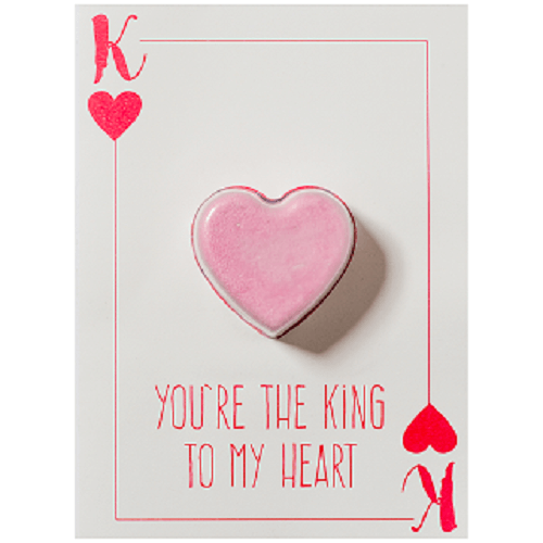 You're The King To My Heart Blastercard
