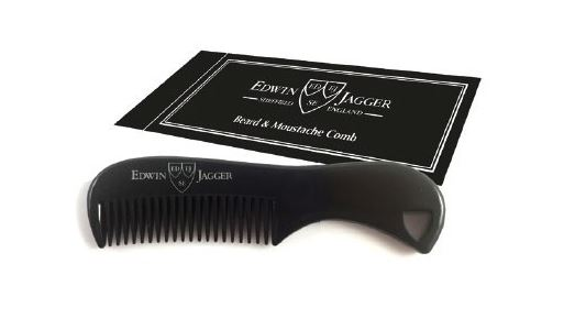 Beard & Moustache Comb - Black
