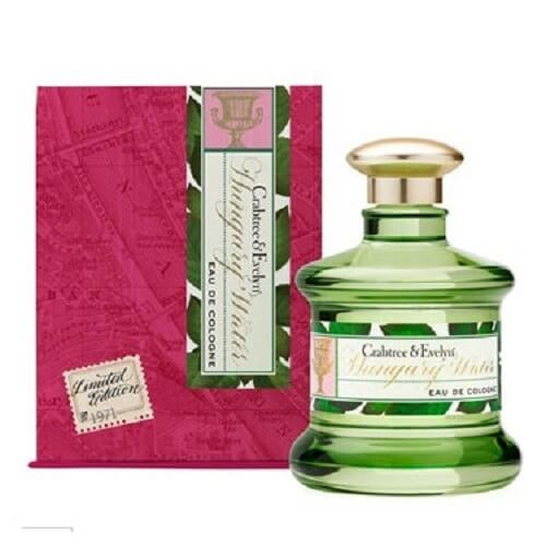 Crabtree & Evelyn Heritage Colognes Hungary Water 100 ml