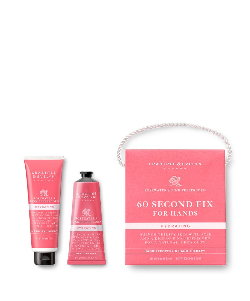 Rosewater & Pink Peppercorn 60 Seconds Fix Kit