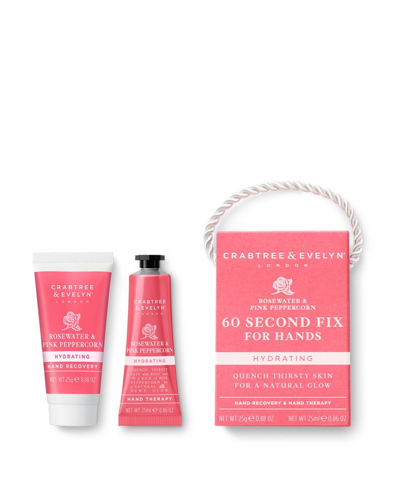 Rosewater & Pink Peppercorn Mini 60 Seconds Fix Kit