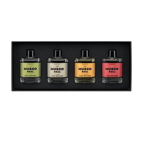 Claus Porto - Musgo Real Gift Set Cologne 4 x 30ml