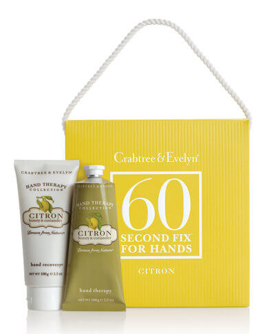 Crabtree & Evelyn Citron 60 Second Fix Kit For Hands