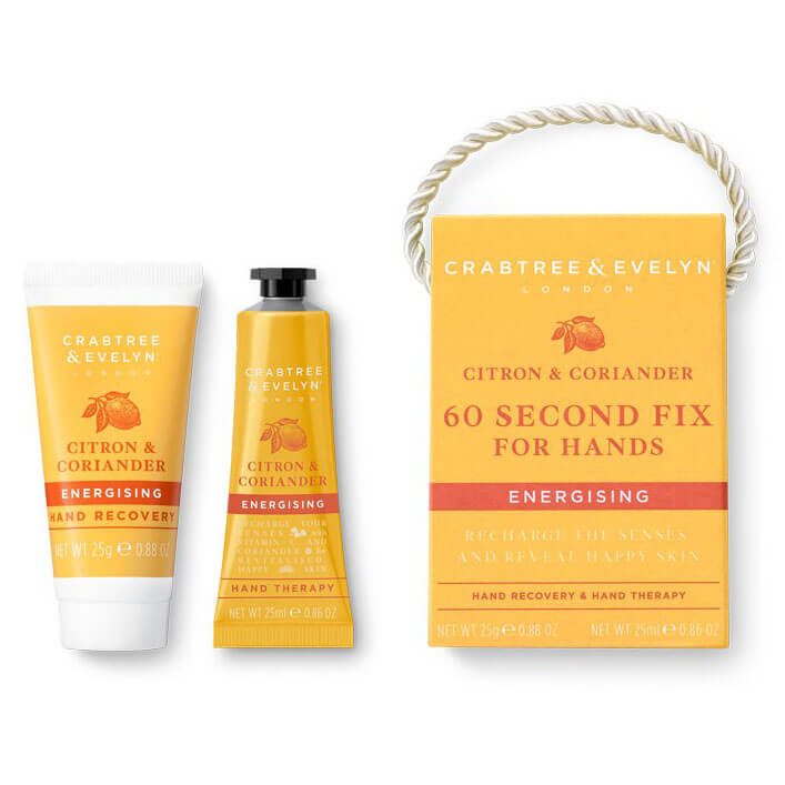 Crabtree & Evelyn Citron 60 Second Fix Kit For Hands Mini