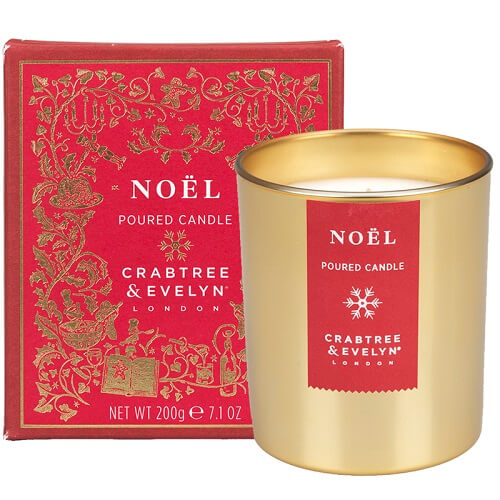 Noël Large Candle 200 gr - 2017