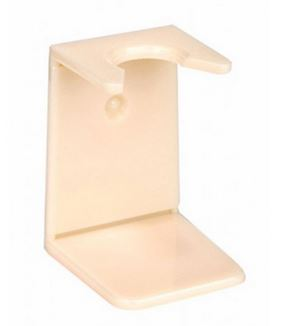 Ivory plastic drip stand, small neck