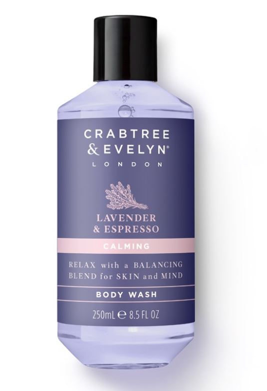 Crabtree & Evelyn Lavender & Espresso Body Wash 250 ml