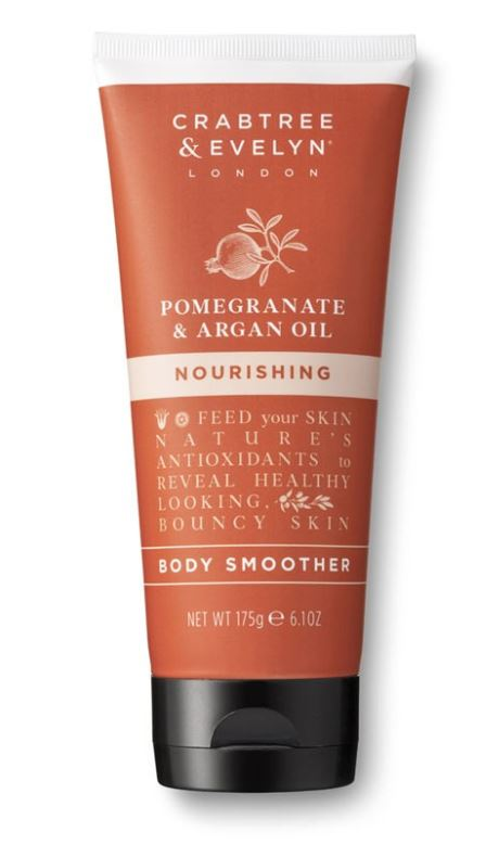Crabtree & Evelyn Pomegranate & Argan Oil Body Smoother 175 gr