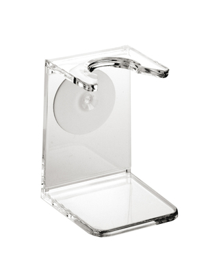 Clear plastic drip stand, small neck