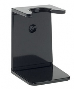 Ebony plastic drip stand, large neck, 23mm