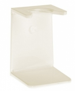 Ivory plastic drip stand, large neck