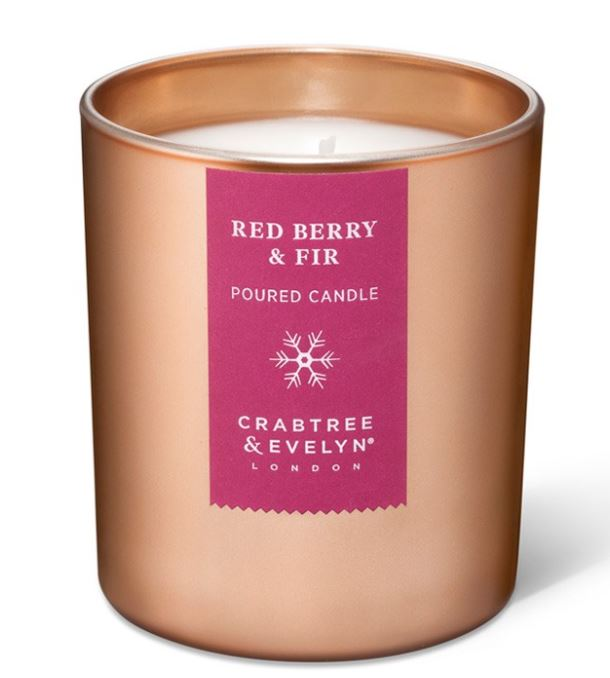 Red Berry & Fir Large Candle 200 gr
