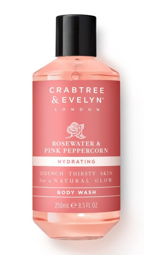 Crabtree & Evelyn Rosewater & Pink Peppercorn Body Wash 250 ml