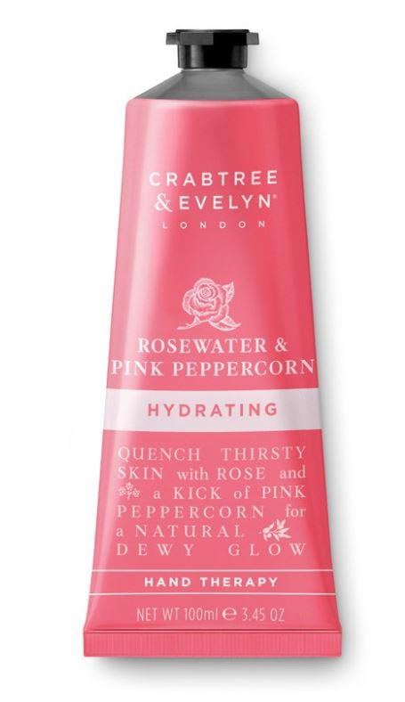 Rosewater & Pink Peppercorn Hand Therapy 100 gr