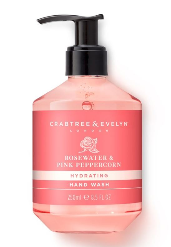Rosewater & Pink Peppercorn Hand Wash 250 ml