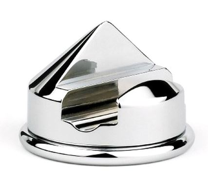 Cone Razor Stand for Mach 3 Razor, Nickel Plated
