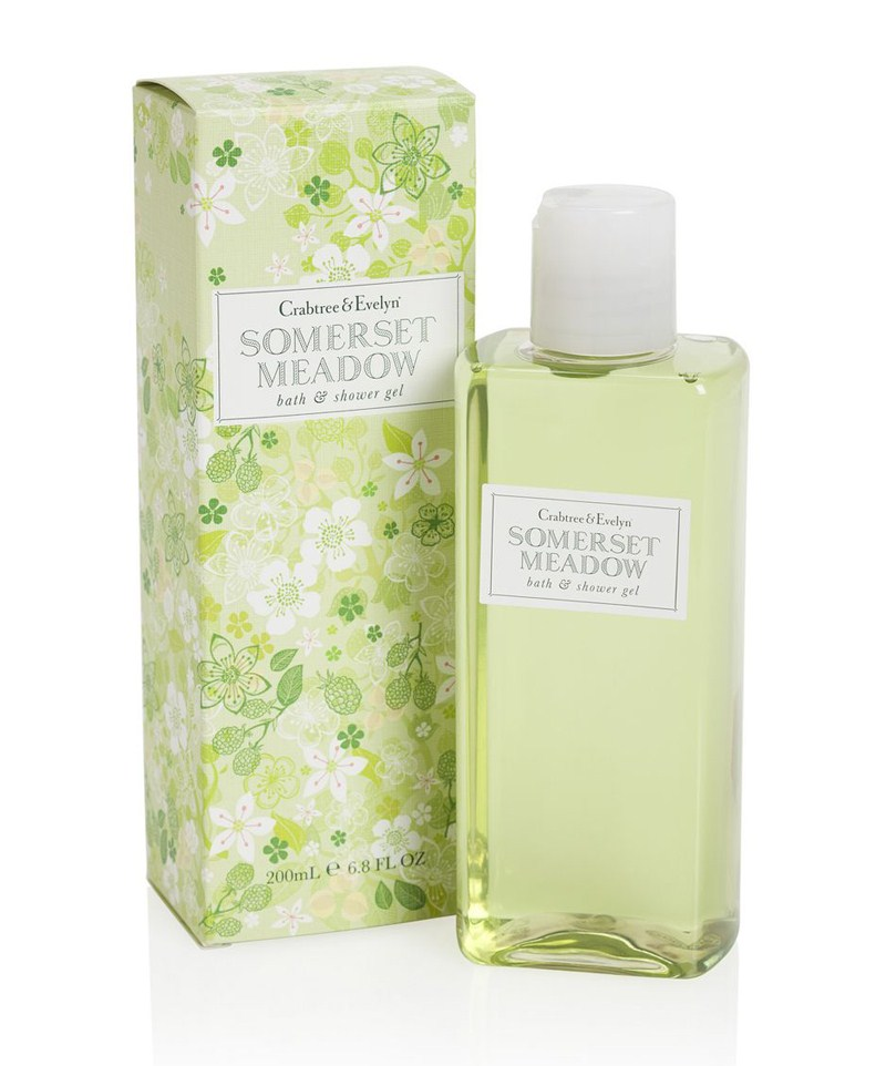 Crabtree & Evelyn Somerset Meadow Body Wash 200 ml