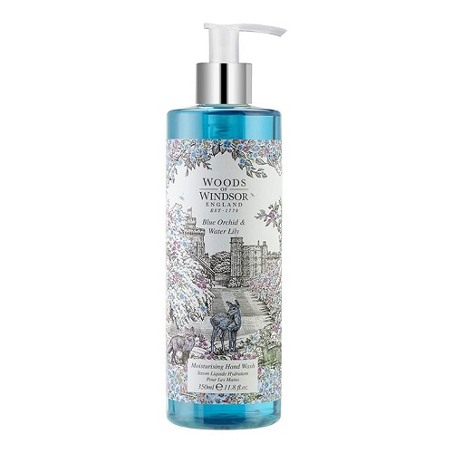 Woods of Windsor Blue Orchid & Water Lily Hand Wash 350 ml