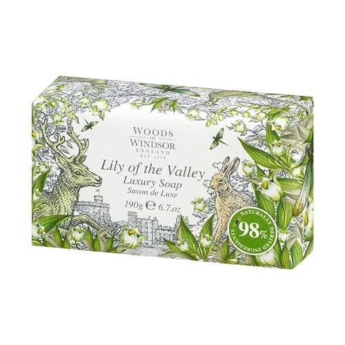 Woods of Windsor Lily of the Valley Fine English Soap 190 gr