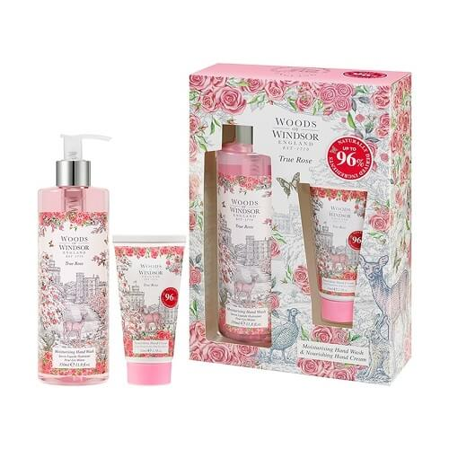 Woods of Windsor True Rose Hand Gift Set