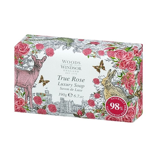Woods of Windsor True Rose Fine English Soap 190 gr