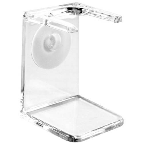 Clear plastic drip stand, large neck